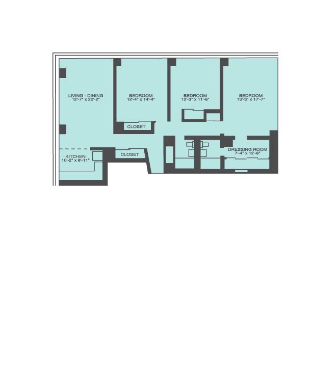 3 Bedroom Floor Plan | Prairie Shores