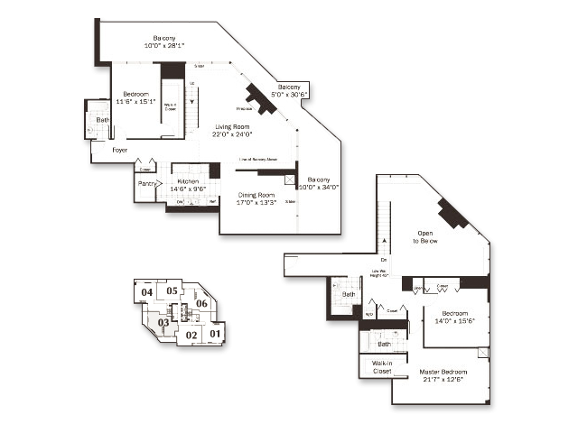Floor Plan 24   Grand Plaza