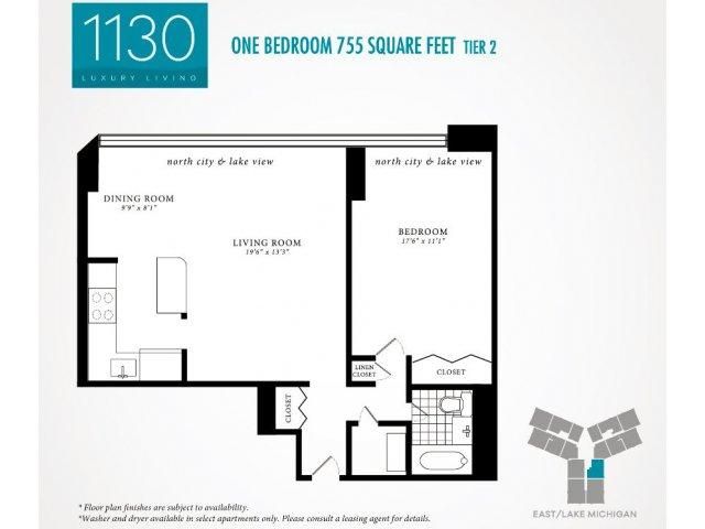 Floor Plan | 1130 South Michigan