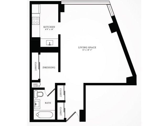 Floor Plan | 1350 Lake Shore Drive