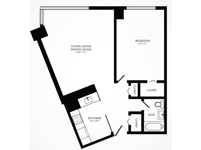 Floor Plan 5 | 1350 Lake Shore Drive