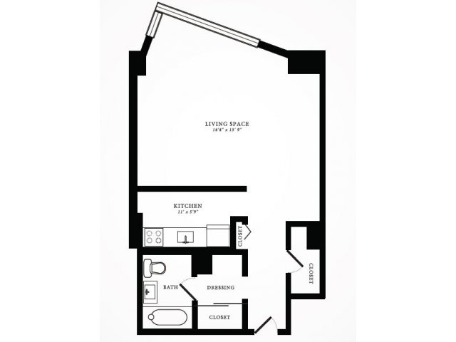 Floor Plan 9 | 1350 Lake Shore Drive