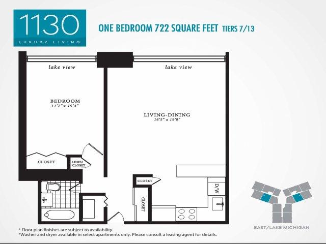 Floor Plan 3 | 1130 South Michigan