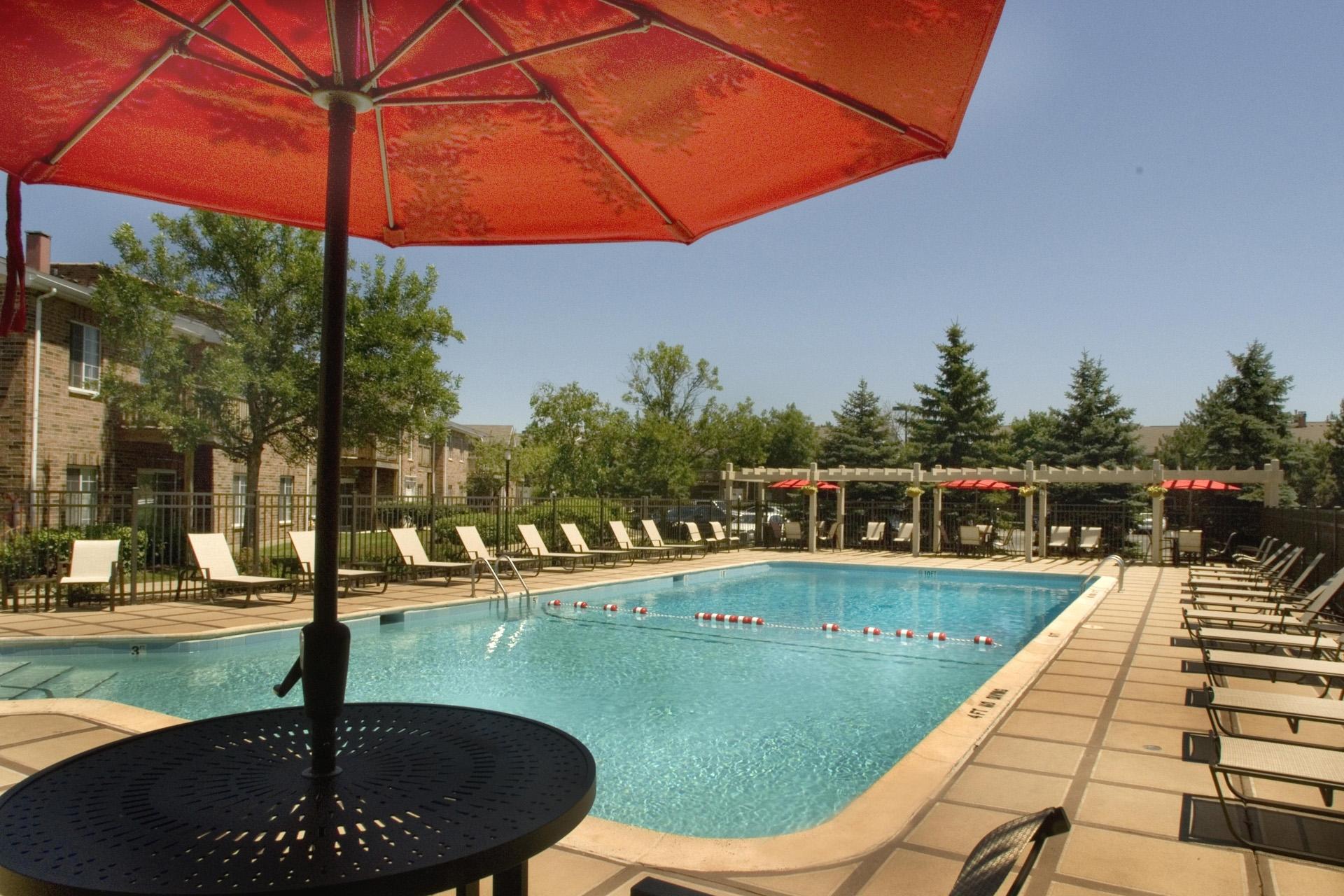 Swimming Pool at Brook Run Apartments