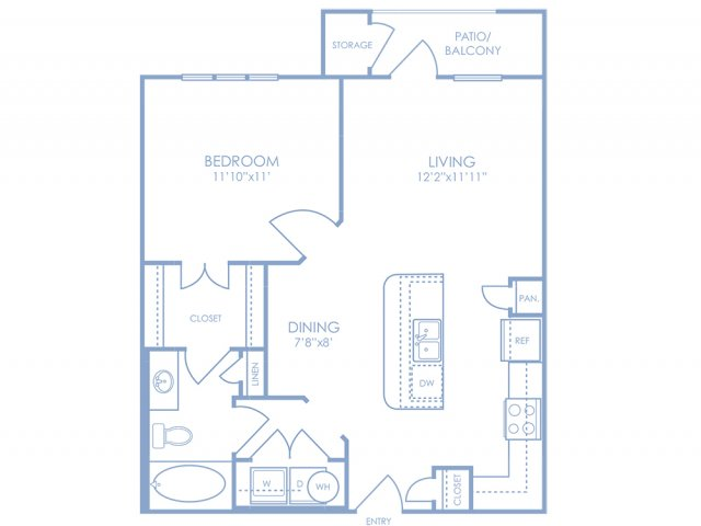Floor Plan | Sonterra Blue