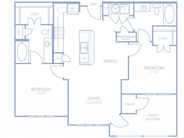 Floor Plan 2 | Sonterra Blue