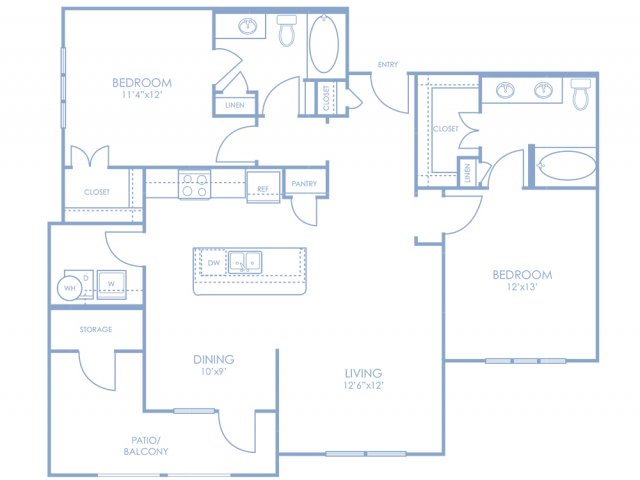 Floor Plan 8 | Sonterra Blue