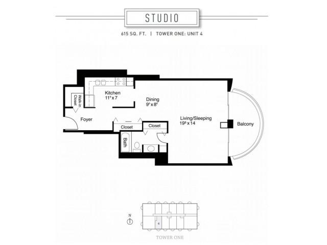 Studio Floor Plan | Wheaton Center
