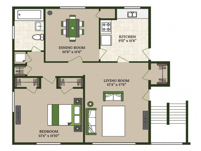 Spacious Floor Plans | Apartments in La Grange Park IL | Homestead