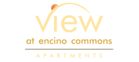 The View at Encino Commons Logo | 3 Bedroom Apartments San Antonio | The View at Encino Commons