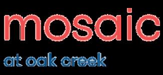 Mosaic at Oak Creek logo.