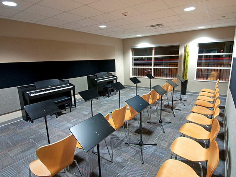 Image of Music Room for College Suites at Washington Square
