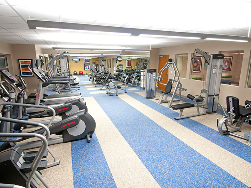 Image of 24 Hour Fitness Gym for College Suites at Washington Square