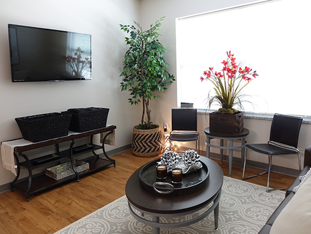 Image of Flat screen TV in each living room for Fox Run at Fulton