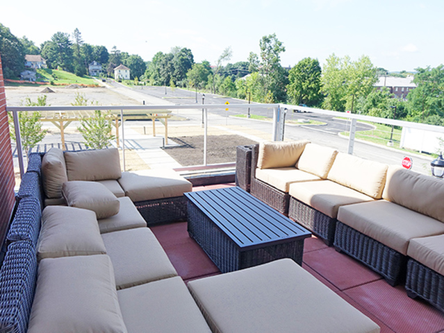 Image of Outdoor Sky Lounge for Fox Run at Fulton