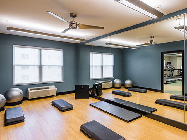Image of Yoga Room for College Suites at Hudson Valley
