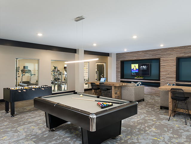 Image of Gaming Area for College Suites at Hudson Valley