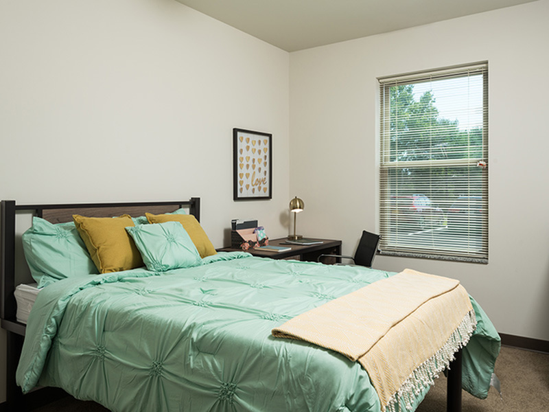 Image of Full Beds for College Suites at Hudson Valley
