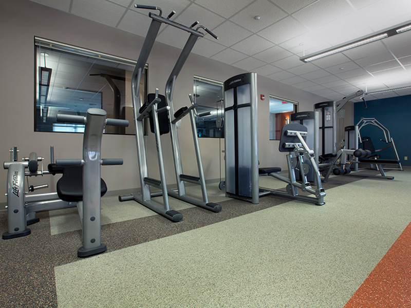 Image of Fitness Center for College Suites at City Station East