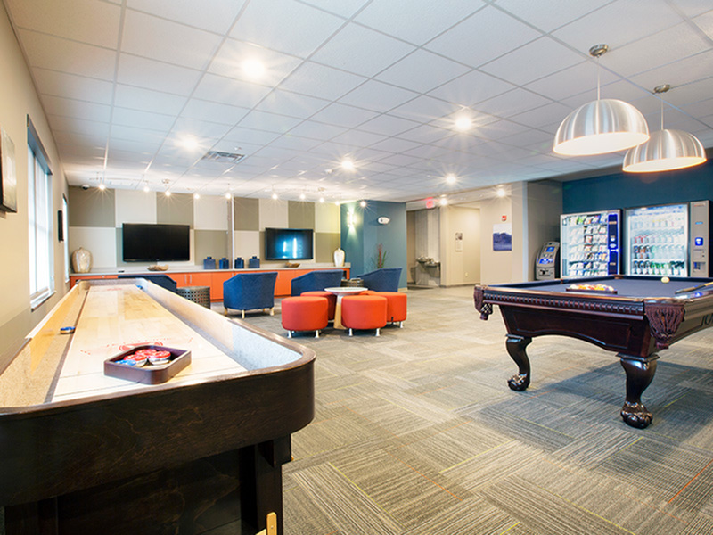 Image of TV Lounge for College Suites at City Station East