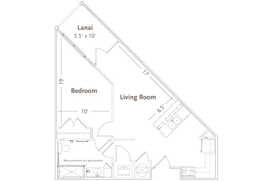 LEON | 1 Bed 1 Bath