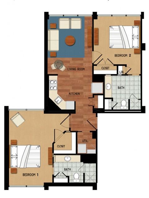Campo Felice Fort Myers FL | Caloosahatchee floorplan