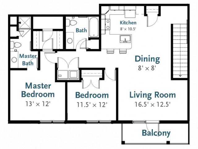 Deerfield Place, Utica NY | Vanguard | 2 Bed / 2 Bath