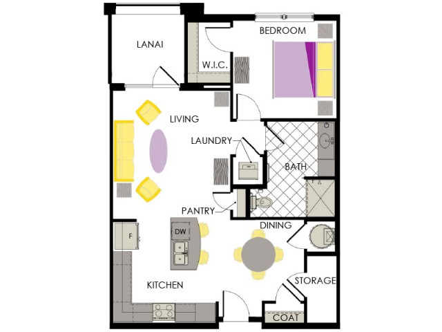Arcadia Gardens Palm Beach Gardens FL | Periwinkle floorplan
