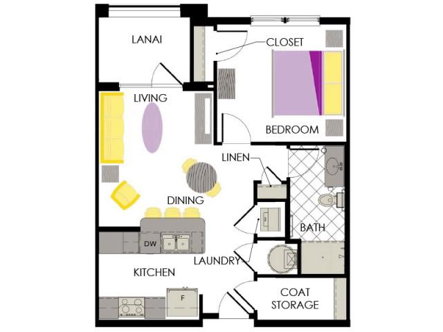 Arcadia Gardens, Palm Beach Gardens FL | Sage floorplan