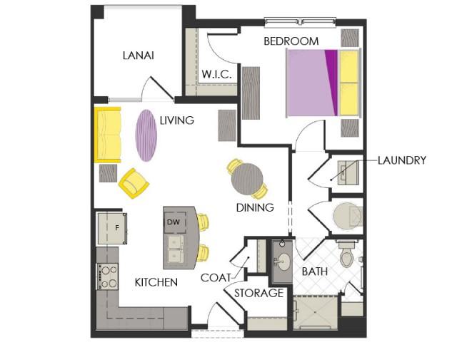 Arcadia Gardens, Palm Beach Gardens FL | Marigold Deluxe floorplan