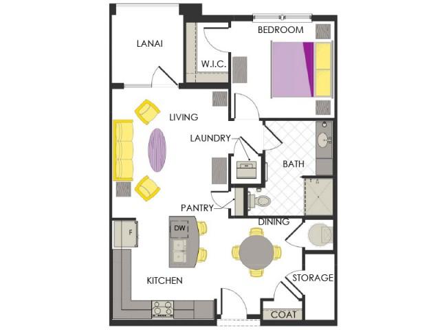 Arcadia Gardens, Palm Beach Gardens FL | Periwinkle Deluxe floorplan