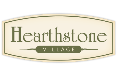 Hearthstone Village logo