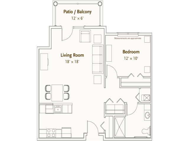 Hearthstone Village | Roanoke floorplan