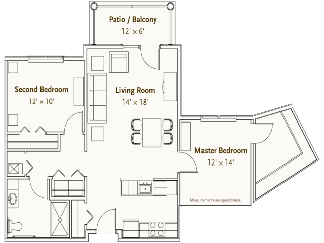 Hearthstone Village Salem floorplan