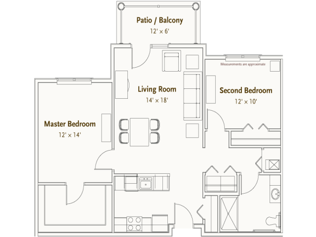 Hearthstone Village Raleigh floorplan