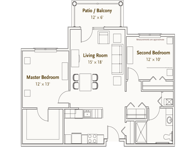 Hearthstone Village Plymouth floorplan