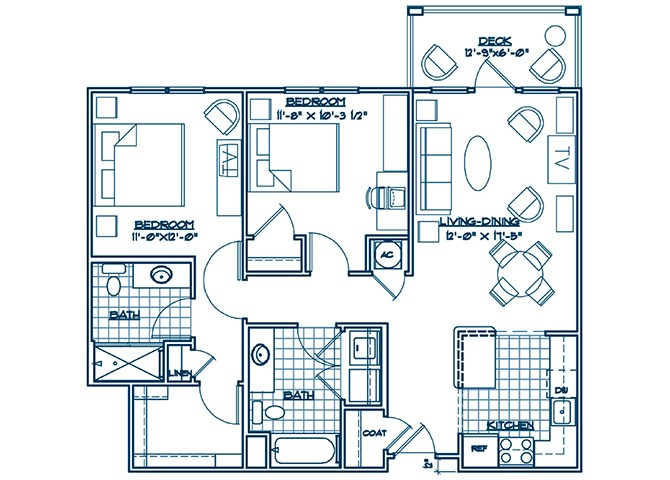 The Lodge at BridgeMill, Canton GA | The Yorkshire floorplan