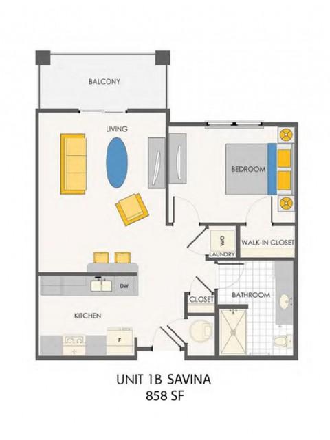 The Sovana at Stuart | Savina floorplan
