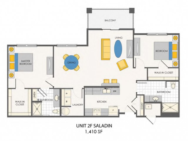 Sovana at Stuart | Saladin floor plan