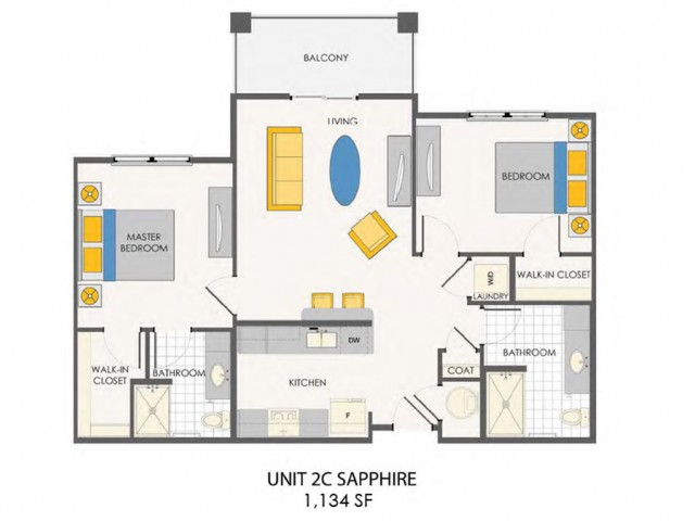 Sovana at Stuart | Sapphire floor plan