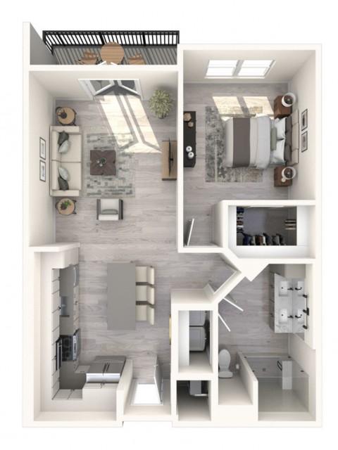 Acacia floor plan