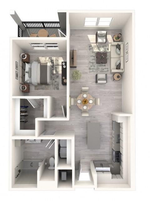 Calabash floor plan