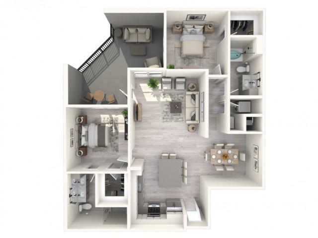 Tamarind floor plan