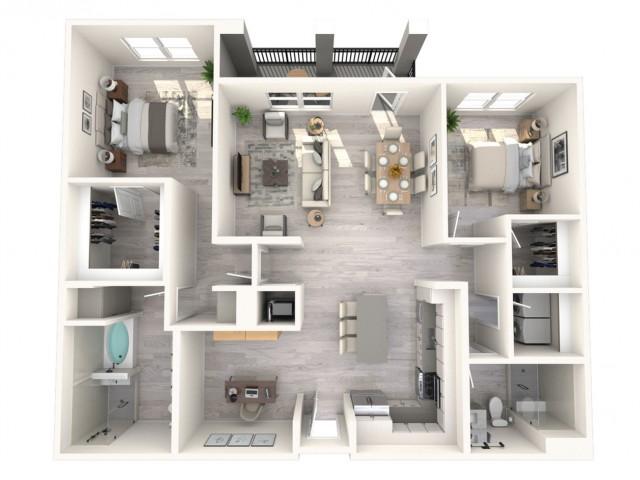 Princewood floor plan