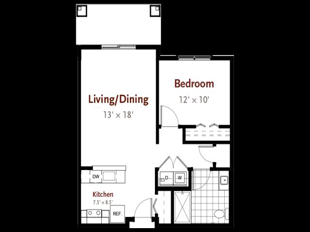 Baker floor plan