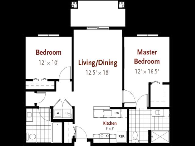 Hill floor plan