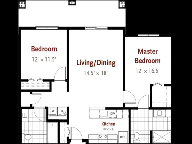 Kensett floor plan