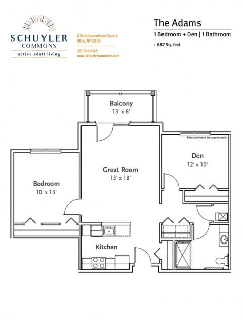 Adams floor plan