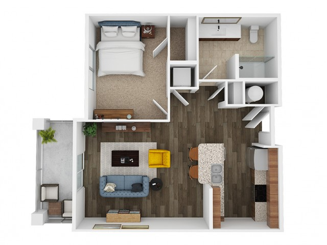 savina 3d floor plan