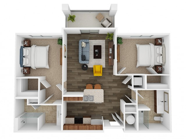 citrine 3d floor plan